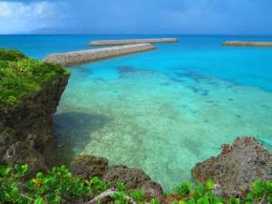 パナリ島の突堤